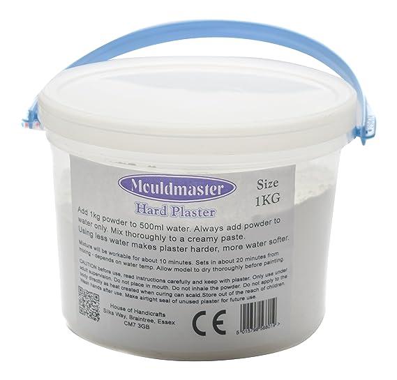 Mould Master Hard Tub, Plaster, White, 1 kg