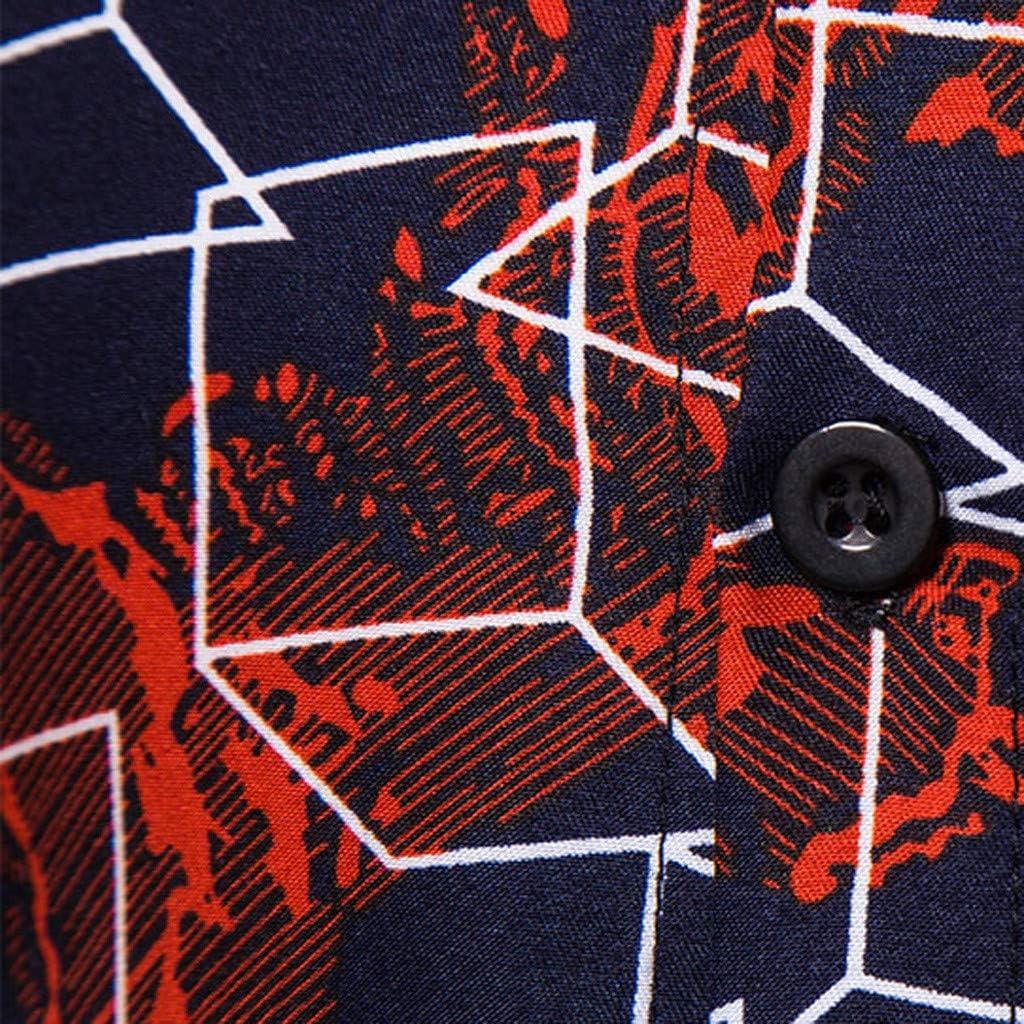 MOTOCO Camisa de Manga Corta con Estampado Hawaiano de Hombre(XL, 6): Amazon.es: Ropa y accesorios