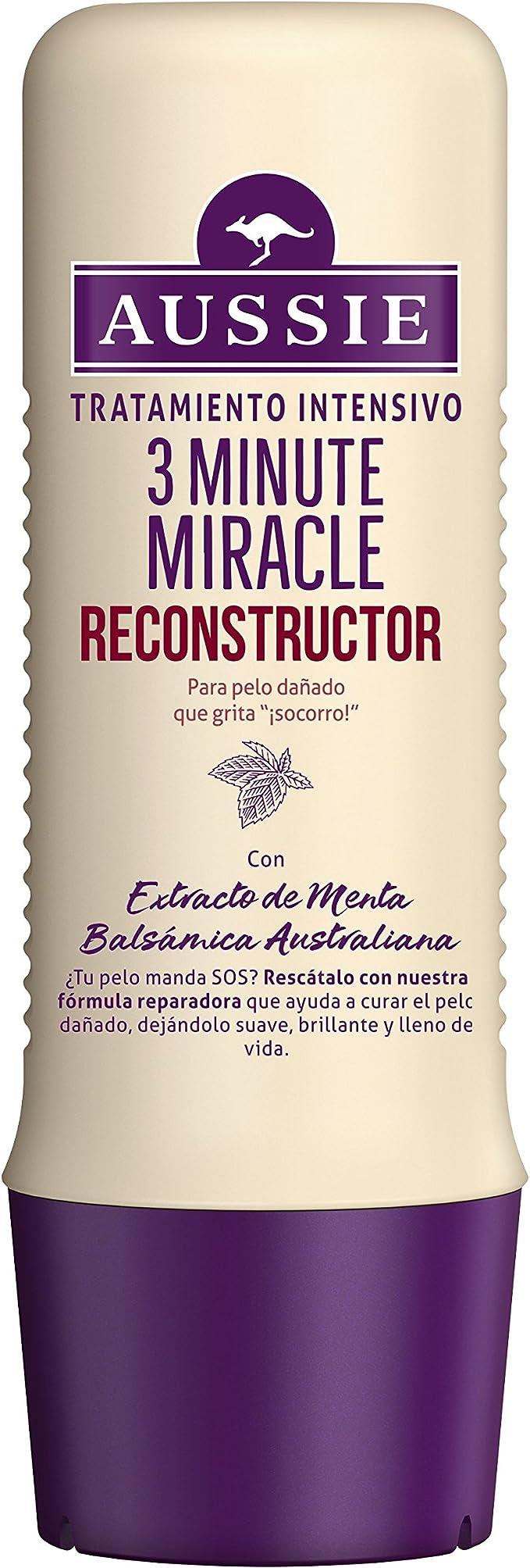 Aussie Mascarilla 3 Minute Miracle Tratamiento Reparador para ...