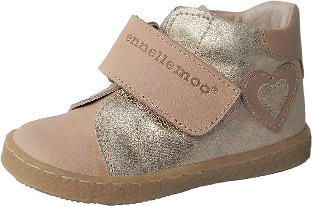Cuir Pleine Fleur. Chaussures de Course ennellemoo/® pour Enfant en Cuir v/éritable pour Enfant Chaussures de qualit/é sup/érieure