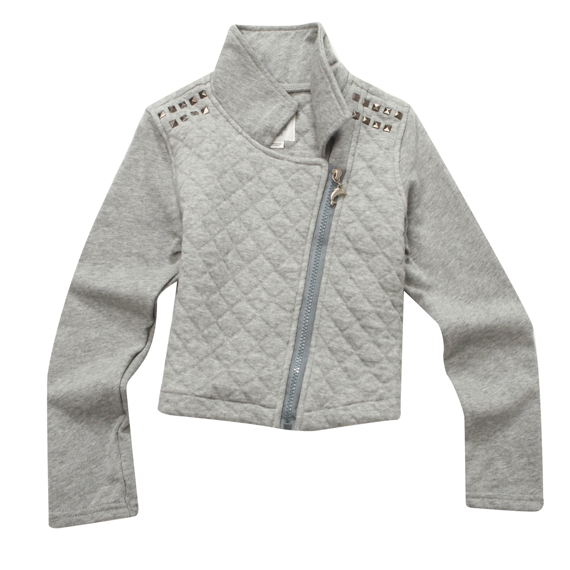 Richie House Little Girls' Short Jacket with Partial Placket RH1091-5/6