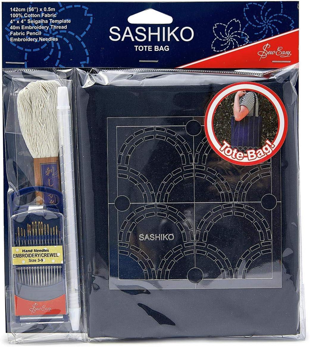 Sew Easy Sashiko Mini Sac Fourre-tout Kit ERS014