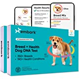 Embark   Dog DNA Test   Breed & Health Kit   Breed Identification & Canine Genetic Health Screening   Pack of 2