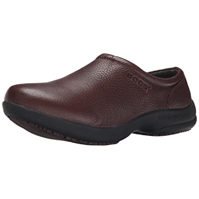 BOGS Women's Ramsey Leather Work Clog: Shoes