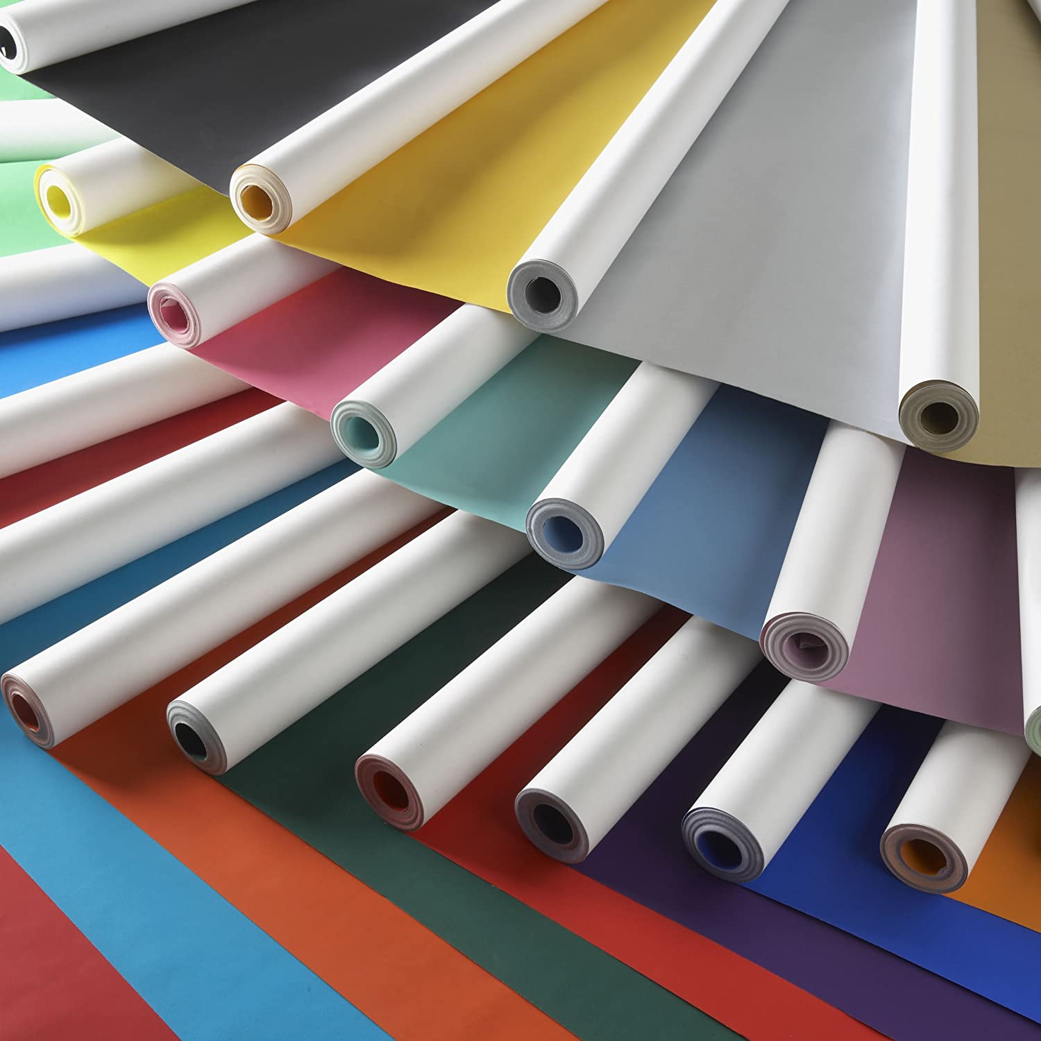 Be Creative Turquoise Poster Display Paper 10m Roll 76mm Width