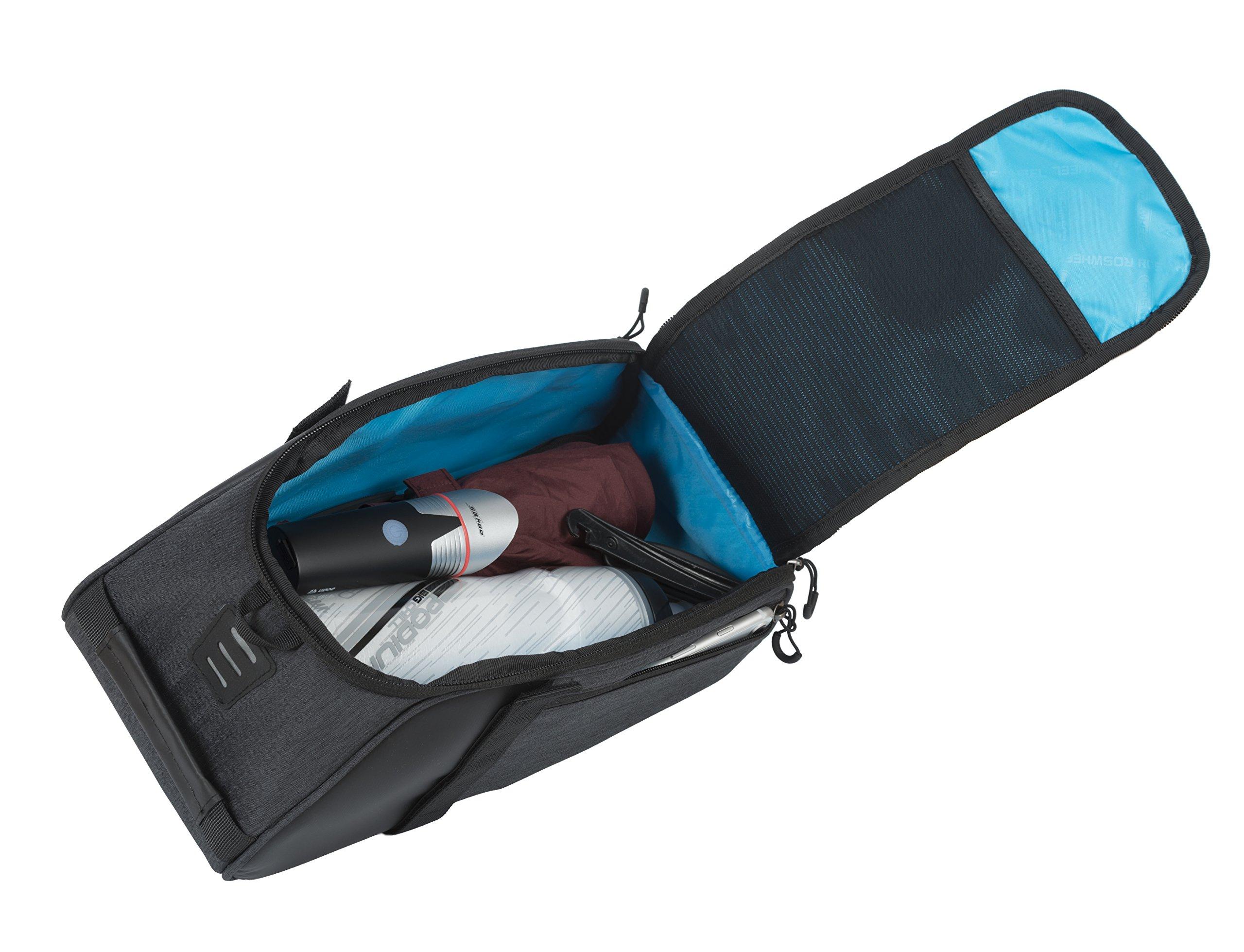 Roswheel Essentials Series 141466 Bike Trunk Bag Bicycle Rear Rack Pack Cycling Accessories Pannier, 8L Capacity by Roswheel (Image #5)