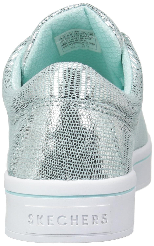 Skechers B074CNGTMT Women's Hi-Lite-Reptile Metallic Sneaker B074CNGTMT Skechers 9.5 M US|Light Blue f7530a