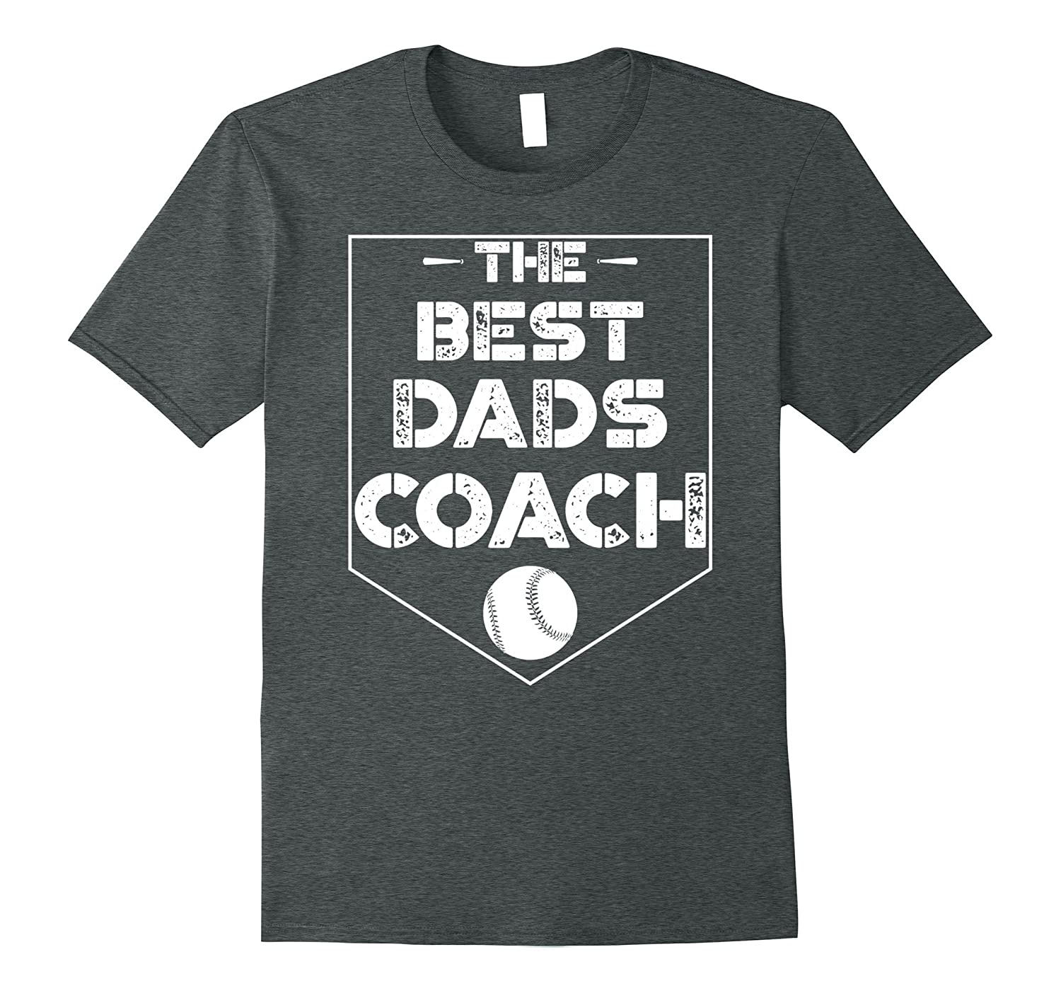 """""""The Best Dads Coach"""" Coaching Father Gift T shirt"""