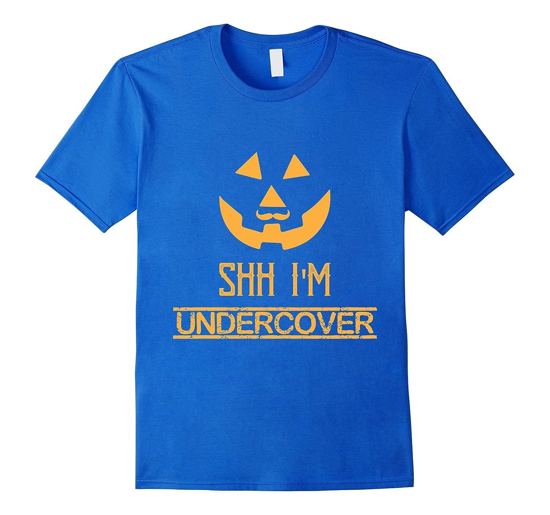 All Orange Undercover Pumpkin Halloween Mustache-FL