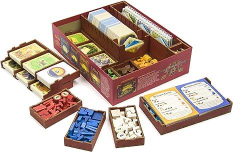 Organizador de Troncos para Juegos para Catan 5ª edición. Organizador de colonos: Amazon.es: Juguetes y juegos