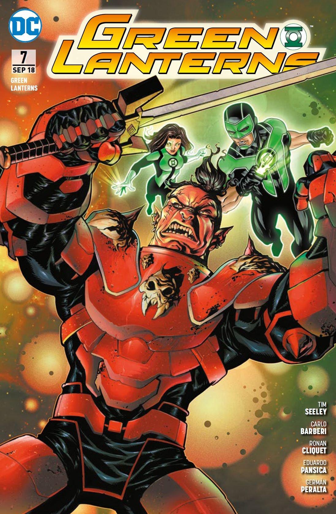 Green Lanterns: Bd. 7: Aufruhr im Weltraum