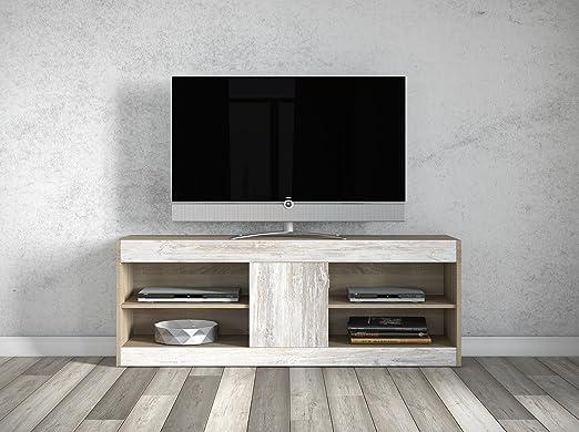 SLAAP - Mueble bajo de TV. Medidas 150X40X55cm: Amazon.es: Juguetes y juegos