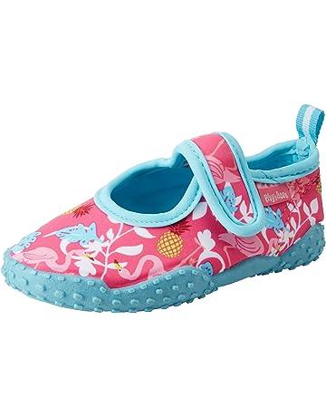 b28dbedebdd3 Playshoes Unisex Kids  Uv-Schutz Badeschuhe Flamingo Water Shoes