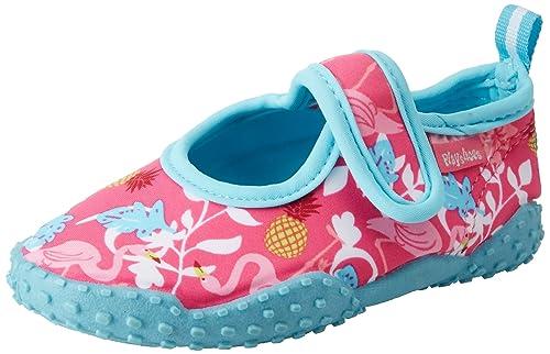 Playshoes Badeschuhe Flamingo Mit UV-Schutz, Zapatillas Impermeables Unisex Niños: Amazon.es: Zapatos y complementos