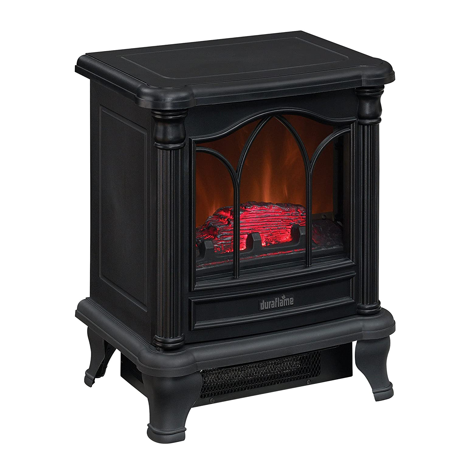 Amazon.com: Duraflame DFS-450-2 Carleton Electric Stove with Heater, Black:  Home & Kitchen