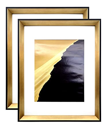 Amazoncom Modern Picture Frame 11x14 Frame With Mat For 8x10