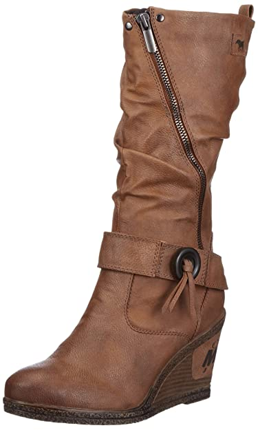 big sale c2051 0f005 Mustang 1083-504 Damen Stiefel