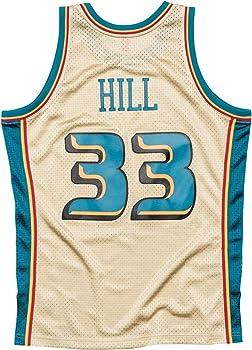release date: 758a6 90896 Amazon.com : Mitchell & Ness Grant Hill NBA Detroit Pistons ...