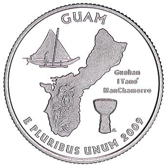 2009 P Guam Territorial Quarter BU