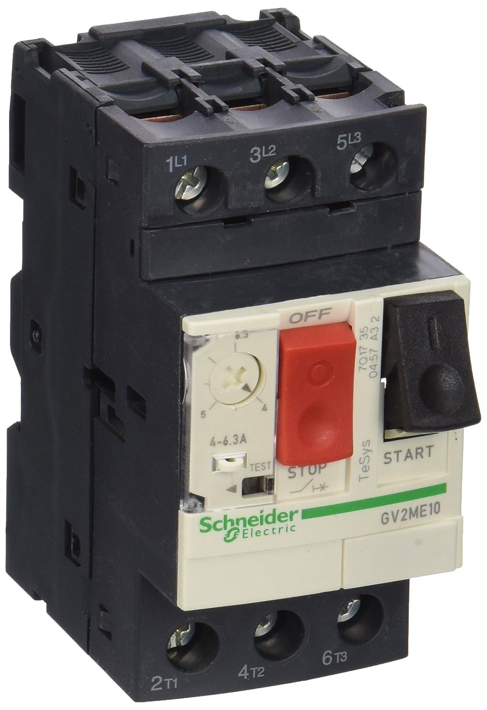 Schneider Electric SC5GV2ME10 Disjoncteur moteur Noir