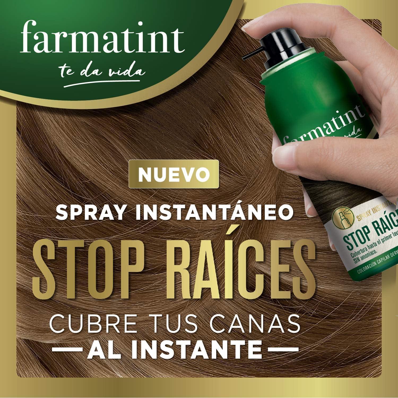 Farmatint Stop Raíces - Spray instantáneo capilar, Tono ...