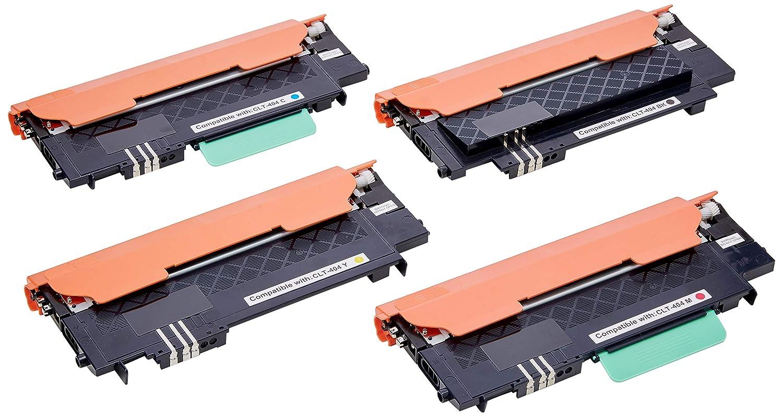4 Compatibles Cartuchos de tóner para Samsung SL-C430 SL-C430W SL ...