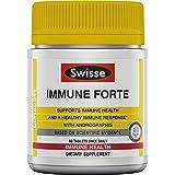 Swisse Ultiboost Immune Forte   穿心莲,维生素C,接骨木浆果和紫锥菊   60 粒