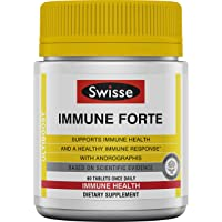 Swisse Ultiboost Immune Forte | Immune Support Supplement with Vitamin C, Zinc,...