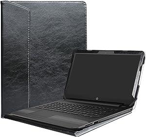 "Alapmk Protective Case Cover for 15.6"" HP Notebook 15 15-bsXXX (Such as 15-BS015DX)/15-bwXXX (Such as 15-BW011DX)/HP 250 G6/HP 255 G6/HP 256 G6 Laptop(Not fit 15-acXXX/15-ayXXX/15-daXXX),Black"