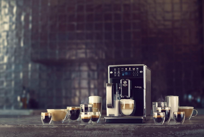 Saeco Kaffeevollautomat mit integriertem Milchsystem