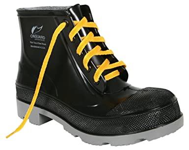 66a32ec7deb Onguard 86103 Black 11 Chemical-Resistant Boots - 6 in Height ...