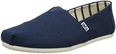 c073c6b223c0a TOMS Men's Venice Collection Alpargata Majolica Blue Heritage Canvas 13 D  US D (M)