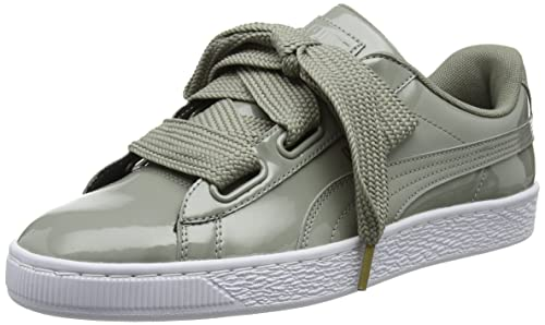 9f6863433ea9 Women s Basket Heart Patent Wn S Rock Ridge Leather Sneakers-4 UK India (