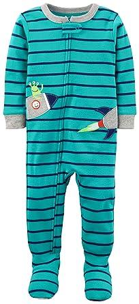 e929e5bae9d1 Amazon.com  Carter s Baby Boys  2T-5T One Piece Alien Rocket Snug ...