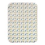 Printed Changing Baby Diaper Pad, Waterproof Pad