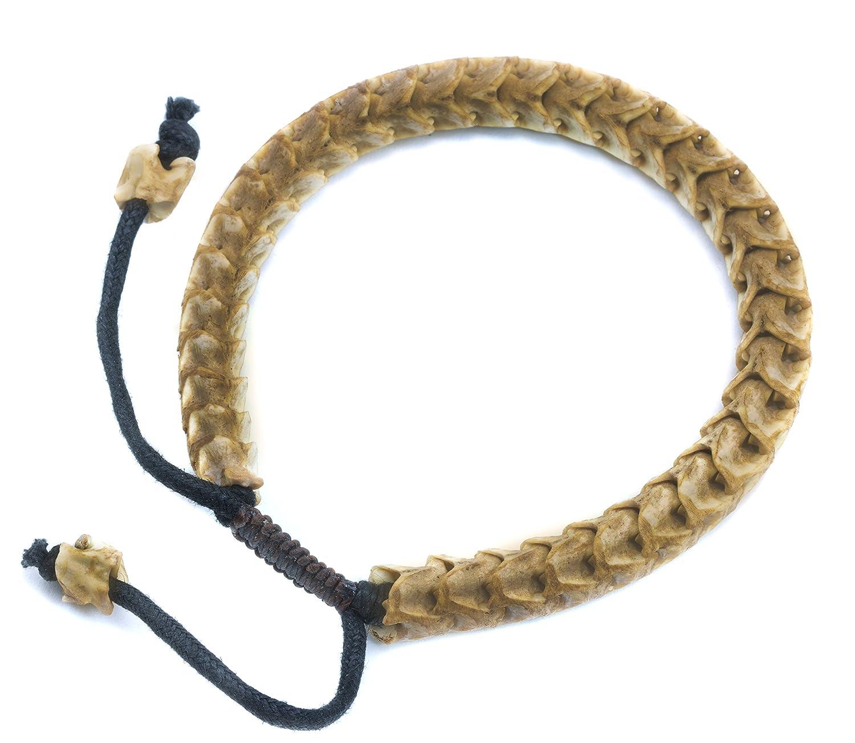Amazon Spyglass Designs Mens Snake Bracelet Spine Bone