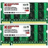 Komputerbay 8Go (2x 4Go) PC2-6400 Kit de mémoire d'ordinateur portable double canal DDR2-800 SoDIMM