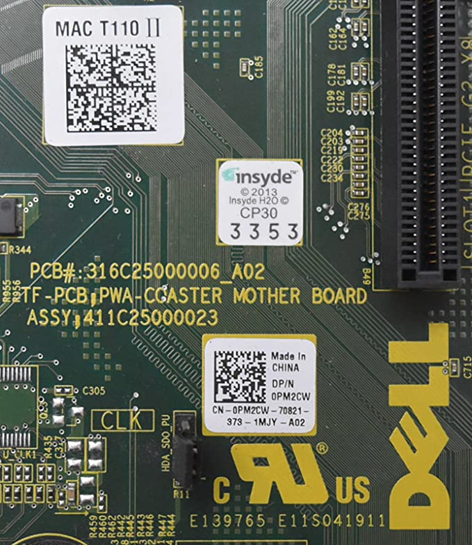 New Pull PM2CW Genuine OEM PowerEdge T110-II TRPM ESG