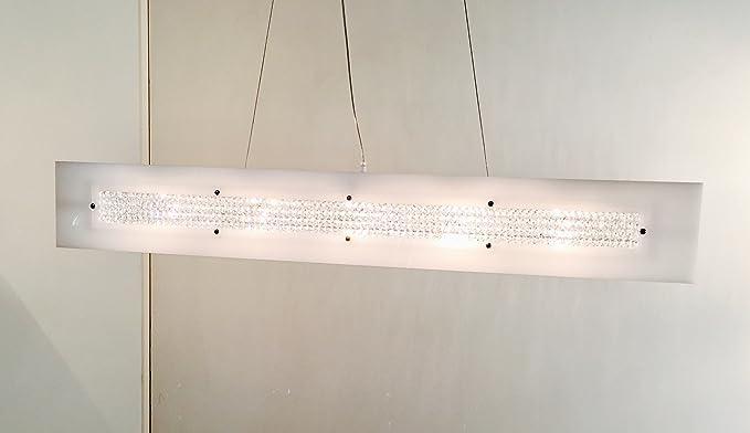 Lampadario Bianco E Cristallo : Lampada a sospensione di design lampadario modello dubai s