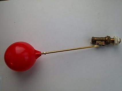 """1/2"""" LP Part 1 BALL PENE flotador valve & Plástico Flotador ..."""