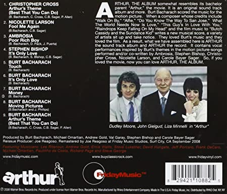 Arthur The Album Music From The Movie Amazoncouk Music