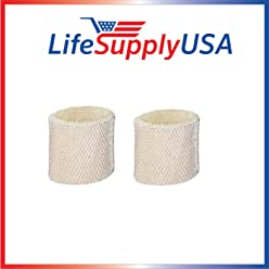 2 Humidifier Filters for Protec WF2 Extended Life Fit Vicks V3500 HCM-350 etc.