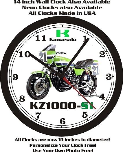 Kawasaki kz1000-s1 pared clock-free Estados Unidos ship-choose 1 de 2