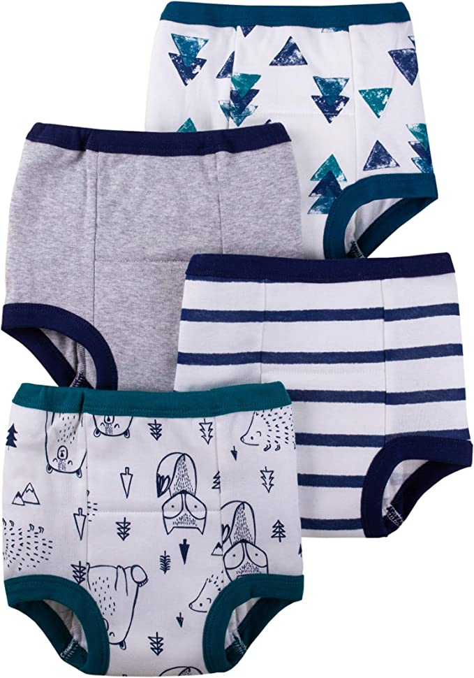 Blue//Green//Animal 18 Months Lamaze Organic Baby Boys Baby Organic 4 Pack Training Pants