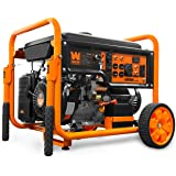 WEN GN9500 420cc Transfer Switch and RV Ready 120V/240V 9500-Watt Portable Generator w/Remote Electric Start, CARB Compliant,