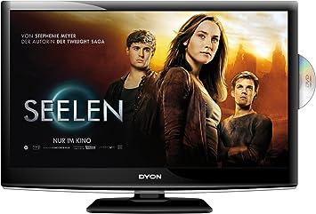 Dyon Sigma 24 - Televisor LED 23,6 pulgadas (Full HD, USB, reproductor DVD integrado, 2xHDMI, sintonizador DVB-T2 y sintonizador de satélite DVS-T2) color negro [importado]: Amazon.es: Electrónica
