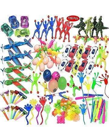Mattelsen Juguetes Cumpleaños Infantiles Juguete del Partido Favor 116 Pcs Juguetes para Rellenar piñatas y Bolsas