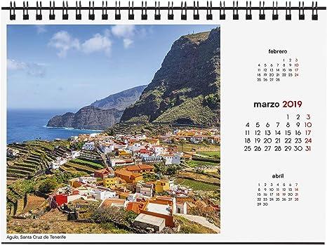 Finocam 780323319 - Calendario sobremesa 2019: Amazon.es: Oficina ...