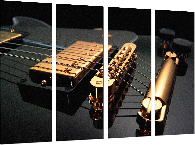 Poster Fotográfico Musica, Instrumento Guitarra Gibson, Rock Tamaño total: 131 x 62 cm XXL