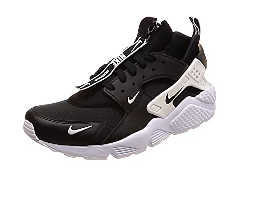 best website 5cae6 b0144 Nike Men s Air Huarache Run PRM Zip Black White Black BQ6164-001 (